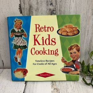 Retro Kids Cooking  Cookbook